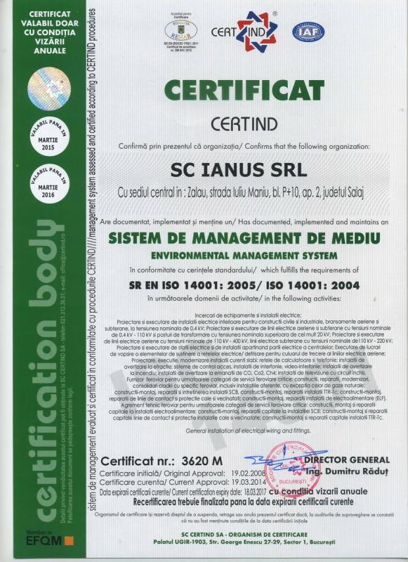 ISO MEDIU 14001